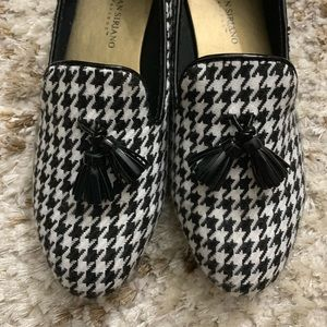 Christian Siriano Shoes - Christina Siriano houndstooth loafers